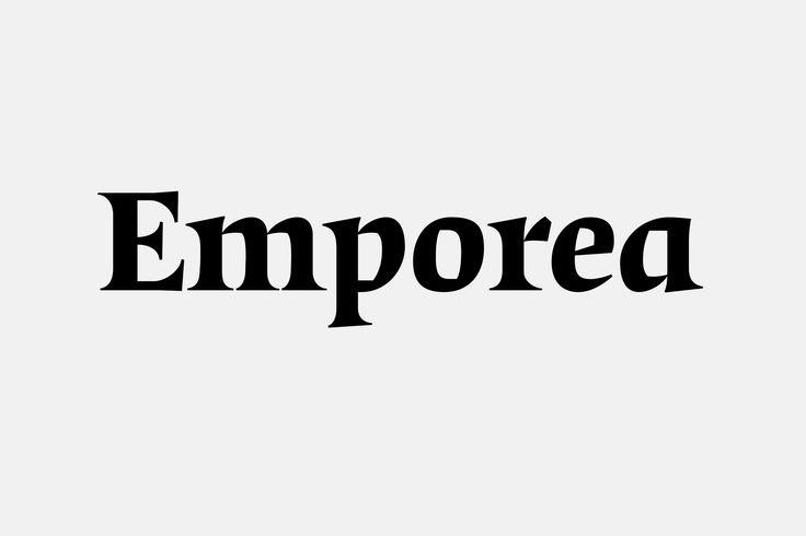 Emporea typeface