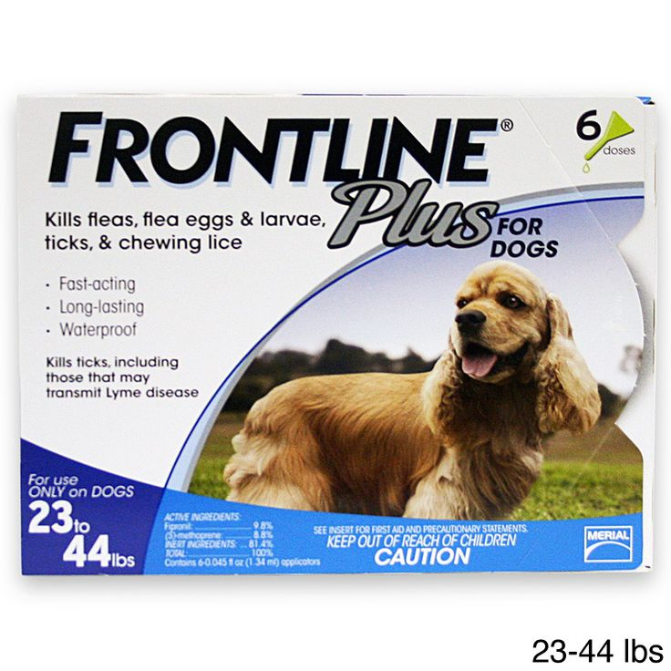 MERIAL LIMITED Frontline Plus for Dogs