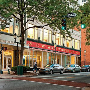 North Carolina | Greensboro's Downtown |SouthernLiving.com