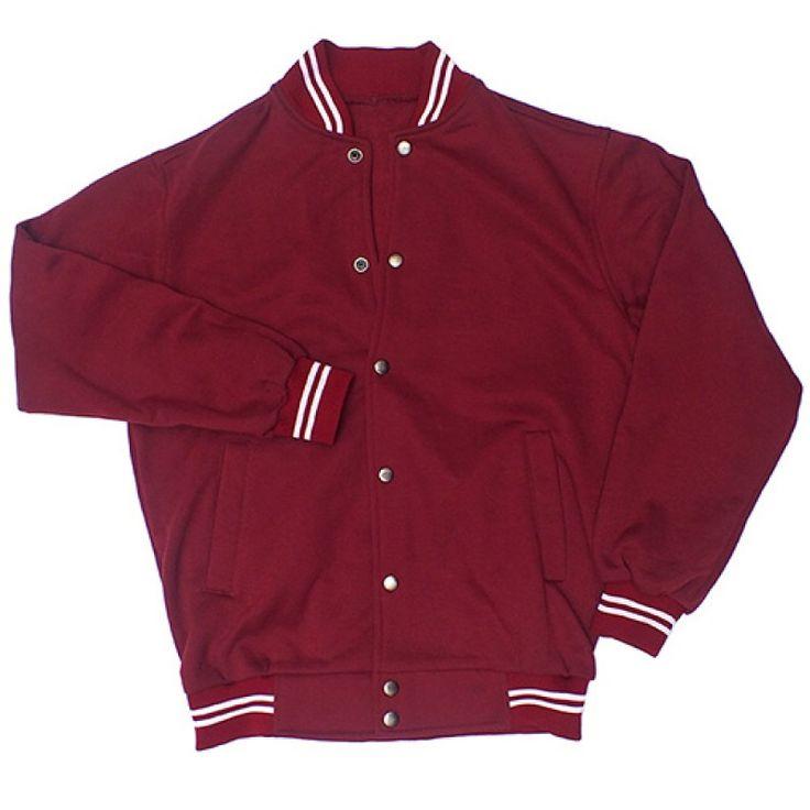 Varsity Jacket Maroon
