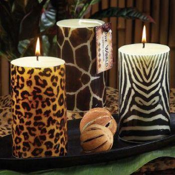 candels #leopard