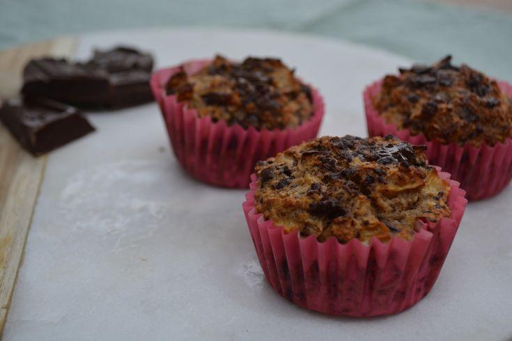 Havermoutcakejes met chocolade - Taste our Joy!