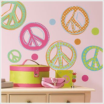 Peace sign wall decals. 17 Best images about I  3 Peace Signs on Pinterest