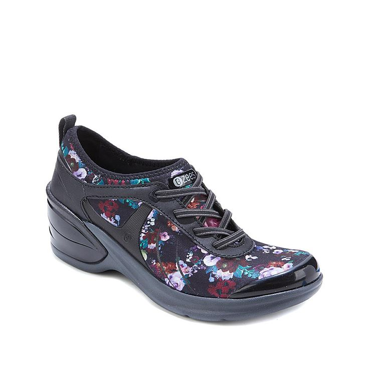 Bzees Marvel Wedge Sneaker - Black