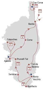 Korsika - Wandern, schmecken und entdecken
