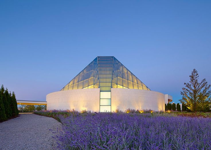 Charles Correa's crystalline Islamic centre joins the Aga Khan Museum in a Toronto park.