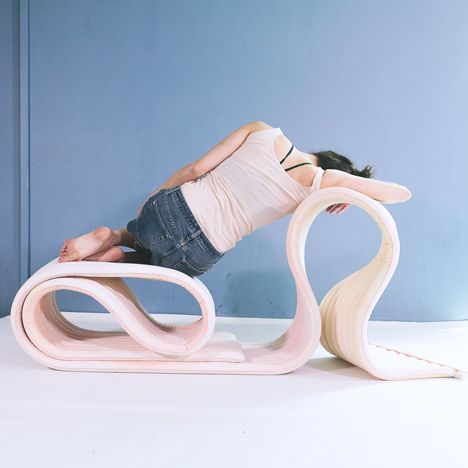 The Body Flexible Seating Structure By Kirsi Enkovaara