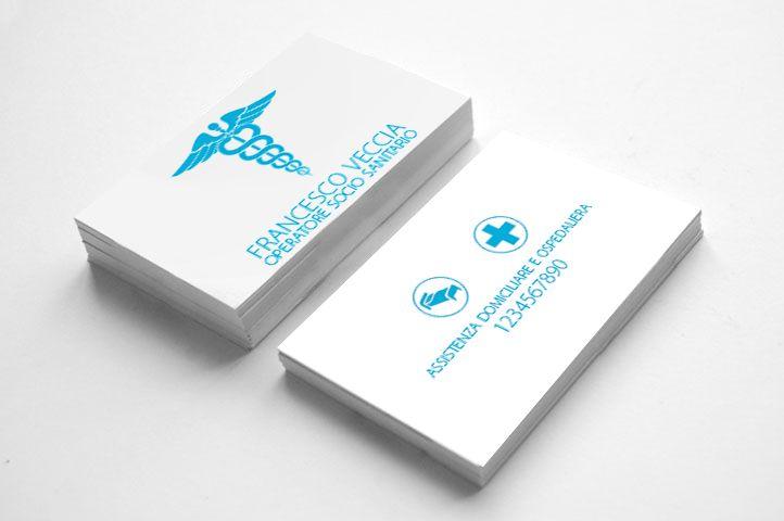 Business card - Diego Albino Dentale- medical field
