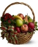 Seasonal Fruit and Plant basket $59.99