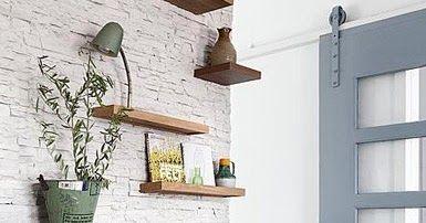 Imagens via Pinterest.com        Para por a louça em ordem...     Em um cantinho especial para se trabalhar...     Na sala de jantar......