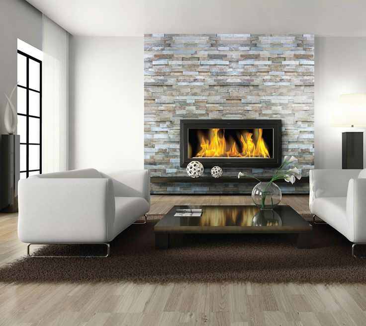 fireplace tile for wall Fireplaces Feature Walls