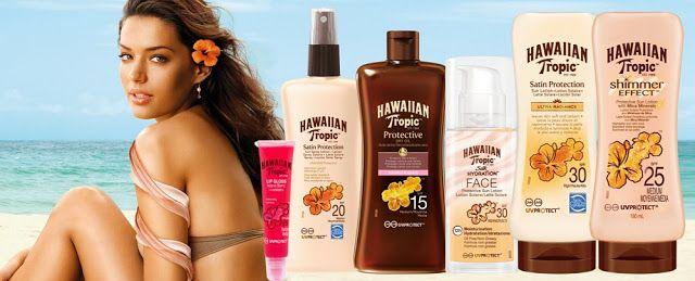 Raqueleita Blog: Piel Radiante y Sedosa con Hawaiian Tropic. Sorteo...