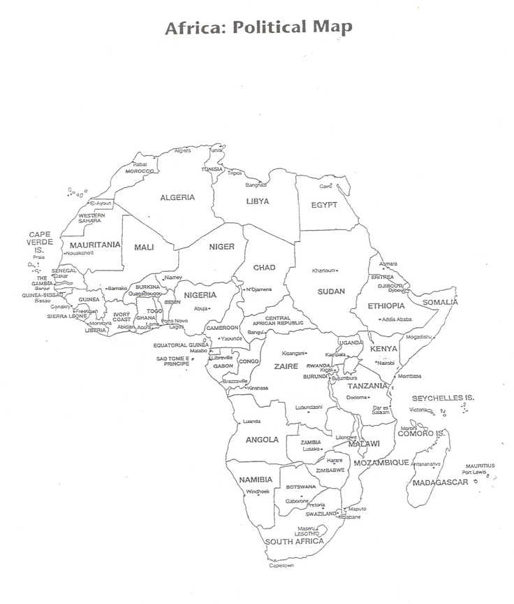 byu geography africa map