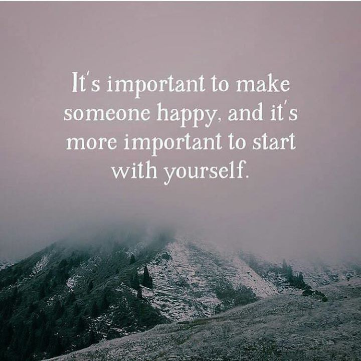 Its important to make someone happy..