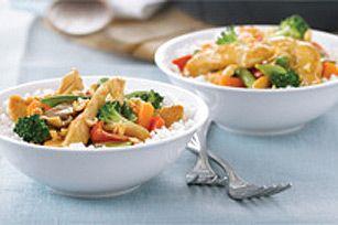 Sauté de poulet facile - Et hop, le souper est prêt !