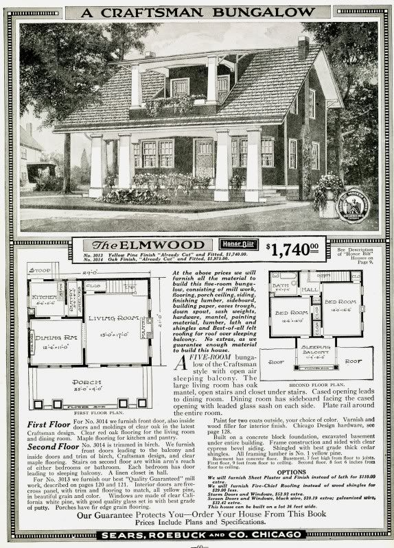 234 best images about sears kit homes on pinterest dutch for Free craftsman house plans
