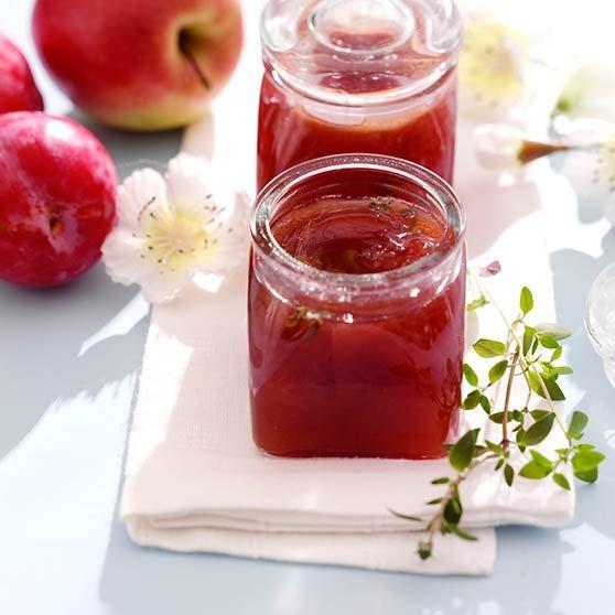 Äpple- plommonmarmelad