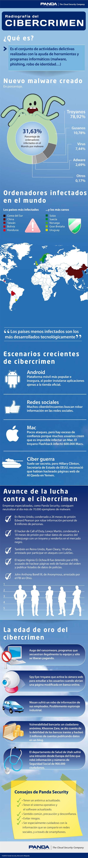 La radiografía del cibercrimen #infografia