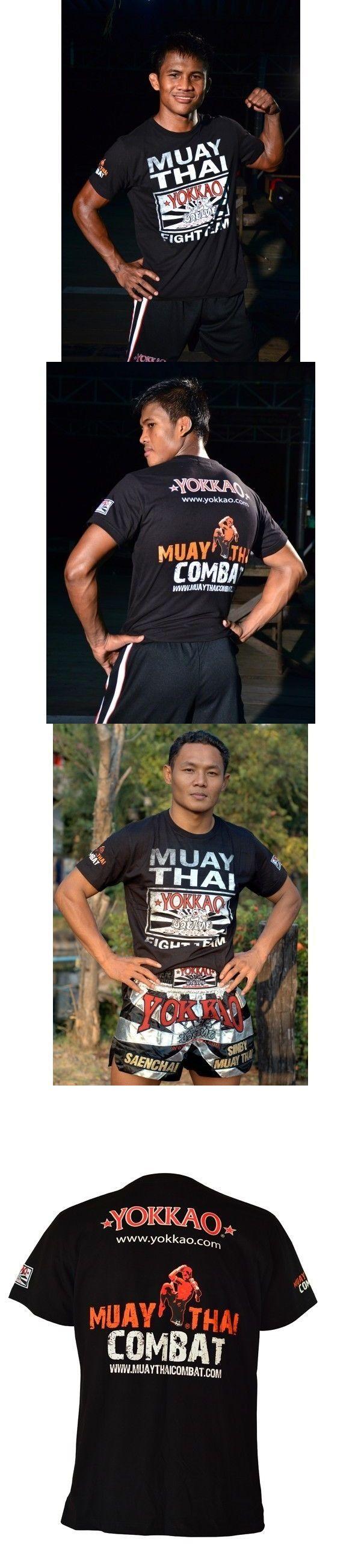Shirts 73983: Yokkao Fight Team Black Muay Thai T-Shir Size L Muay Thai Kickboxing Ufc Mma Bjj -> BUY IT NOW ONLY: $32 on eBay!