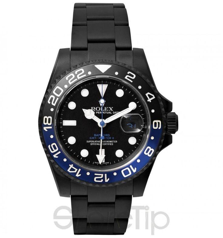 GMT Master II Titanium-Coated Watch