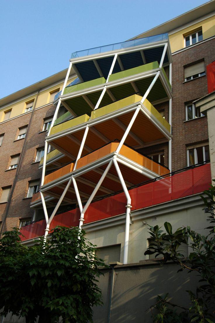 Luca Moretto · Collegio Universitario Einaudi - San Paolo, Torino · Divisare