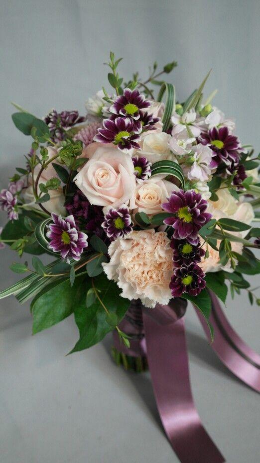 ajour bridal bouquet 라로즈플라워앤스쿨