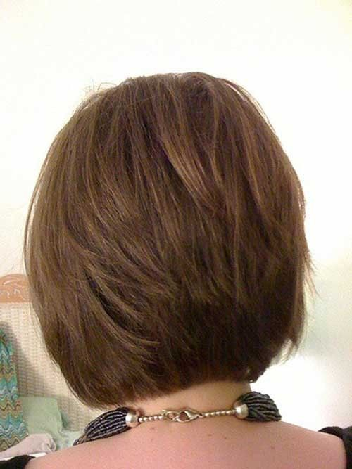 Stacked Bob Haircut Back View Hairstyle And Haircuts For