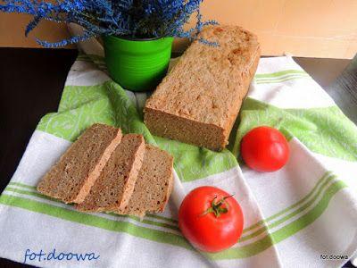 Moje Małe Czarowanie: Chleb żytnio - gryczany na zakwasie żytnim.