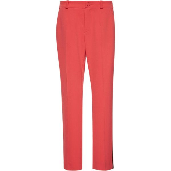 Grain de Poudre Tuxedo Trouser    Moda Operandi ($1,150) ❤ liked on Polyvore featuring pants and capris