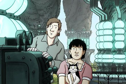 Review: April and the Extraordinary World Animated Sci-Fi From France from GLENN KENNY at the New York Times. #movies