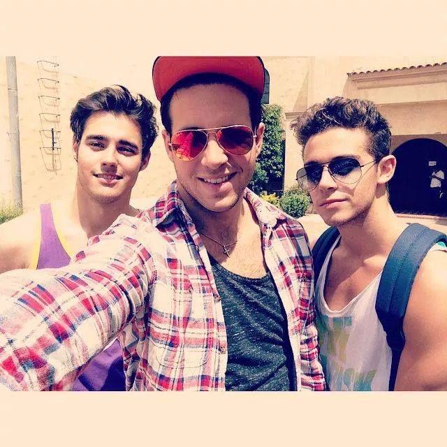 Jorge,Damien y Ruggero