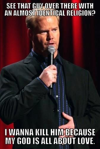 haha: Religion, Laughing, God Is, Funny Stuff, Truths, True, Humor, People, Jim Gaffigan