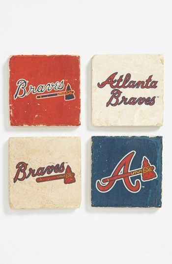 'Atlanta Braves' Marble Coasters (Set of 4) | Nordstrom @Mary Powers Ellen Wittenmeier