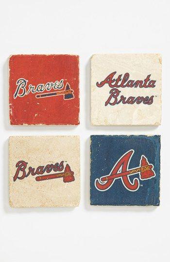 'Atlanta Braves' Marble Coasters (Set of 4)   Nordstrom @Mary Powers Ellen Wittenmeier