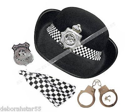 #Police woman costume hat  #scarf badge cuffs womens #police fancy dress costume,  View more on the LINK: 	http://www.zeppy.io/product/gb/2/361842577925/