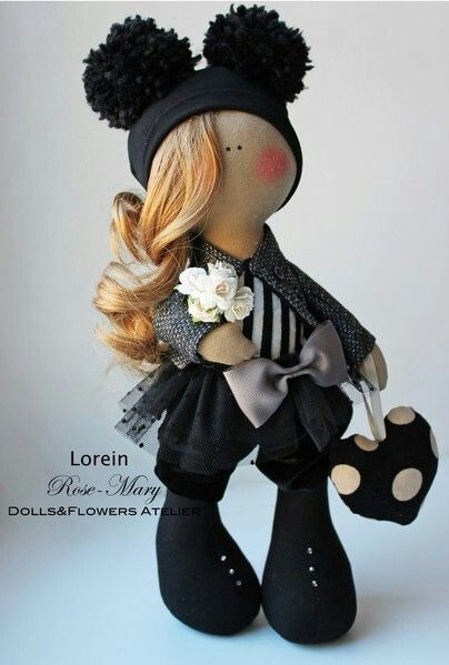 rock chick plush toy