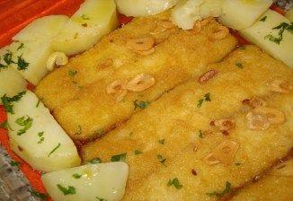 Receita de Filetes de peixe a Rosa do Adro