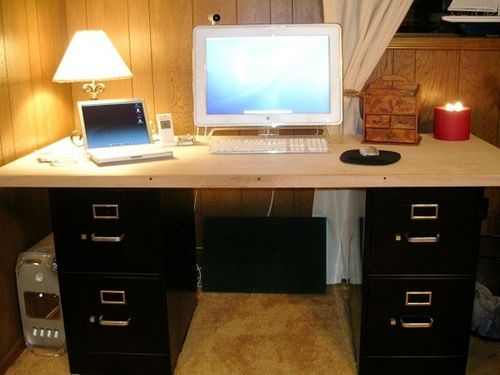25 Best Ideas About Two Person Desk On Pinterest: 25+ Best Ideas About Homemade Desk On Pinterest