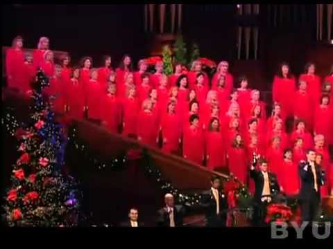 Carol of the Bells was first performed in the Ukraine on the night of January 13, 1916. In the United States the song was first performed on October 5, 1921 at Carnegie Hall.    This video is from the Christmas special of the Mormon Tabernacle Choir.