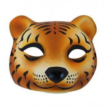 Tiger+Woodland+Mask+