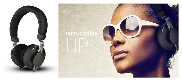 NOUVEAUTE NOVODIO : Casque audio haute fidélité Novodio HP+ - #accessoires #high #tech #technologie #Novodio #Macway #casque #audio #musique