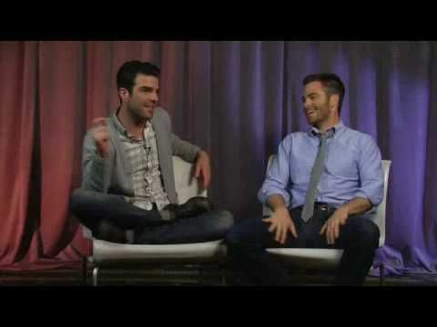Zachary Quinto & Chris Pine interview each other (Artist on Artist)