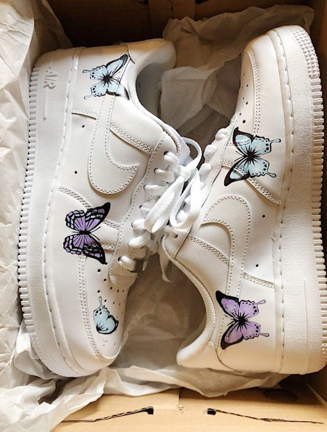 4792d3c93 Butterfly Air forces | fashionnn in 2019 | Shoes, Sock shoes, Sneakers