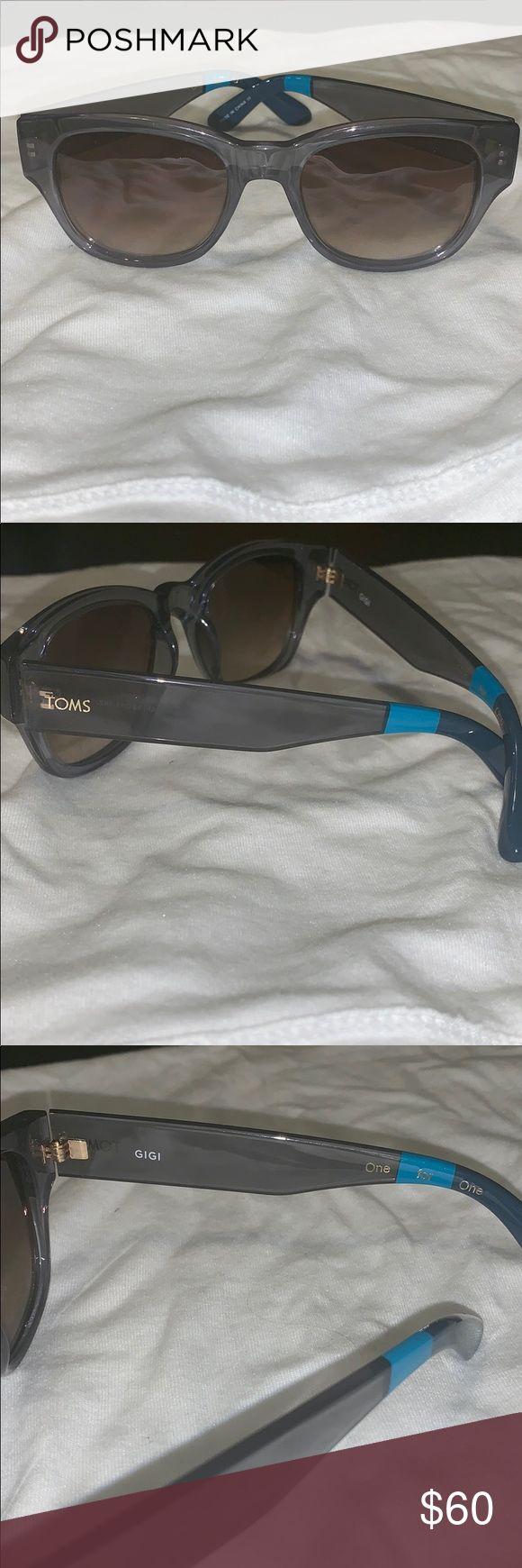 Toms Gigi Sunglasses Usada uma vez, como novos e super fofos óculos de sol Toms Gigi com …   – My Posh Picks