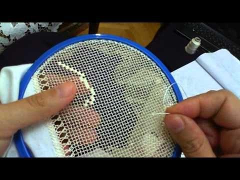 İĞNE OYASI File bohça kumaşa sarma tekniği - YouTube