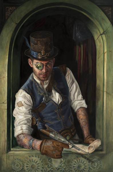 Steampunk Pirate Art Print