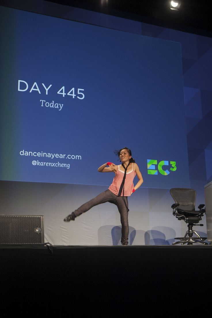 EC3 - #EC2013: YouTube sensation Karen Cheng of Girl Learns to Dance in a Year (TIME LAPSE)  kicked things off on Day 1 with a live performance. http://danceinayear.com/