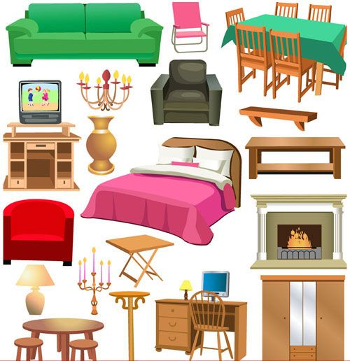 furniture clipart - Google Search | Cliparts | Pinterest | Other ...