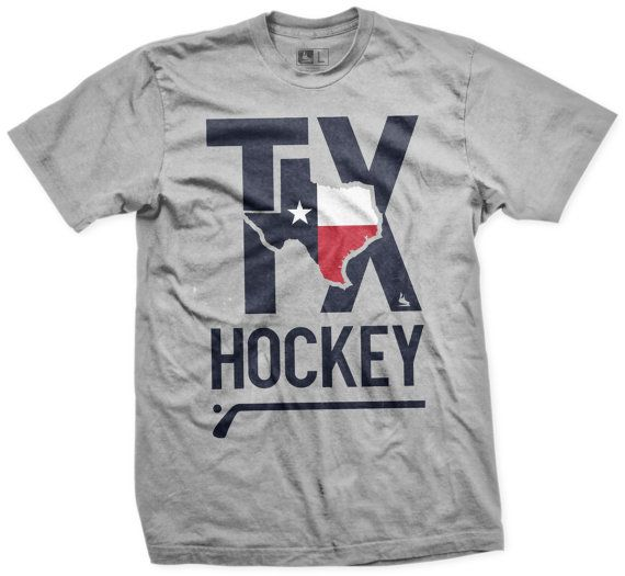 Hockey+T+Shirt+TEXAS+by+Scrappers+Hockey+by+SCRAPPERSHOCKEY,+$24.99