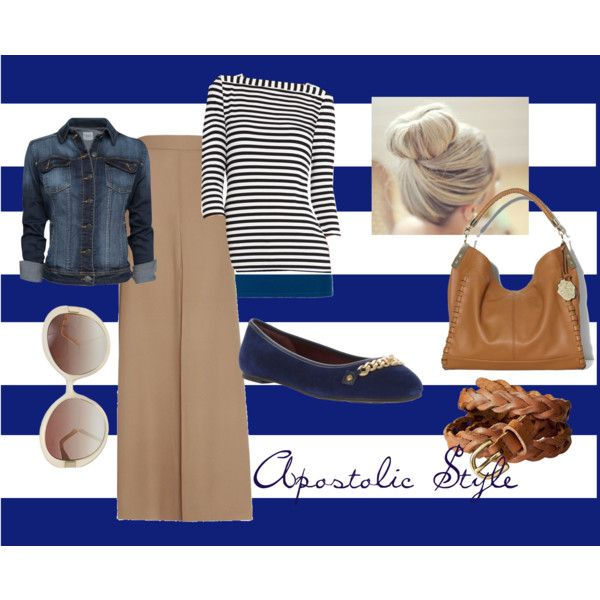 Nautical Apostolic Style, created by emmyholloway on Polyvore